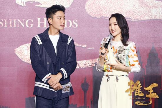 贾乃亮新剧《推手》在京举办发布会   现场与王鸥互动默契cp感十足