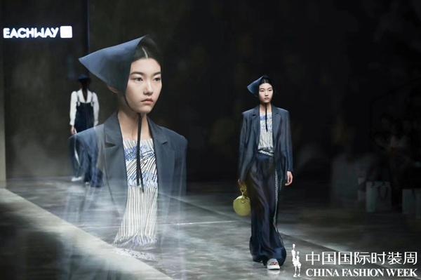EACHWAY S/S 2020中国国际时装周<<探寻中国色的时尚基因>>